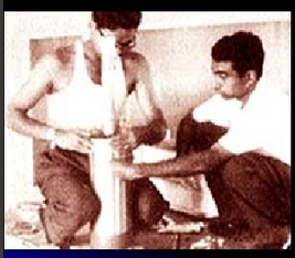 A P J Kalam working on rocket payload
